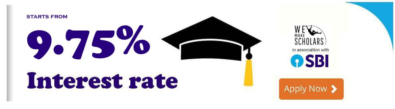 SBI Education Loan | Abroad Education Loan SBI Interest ...